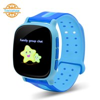 Wholesale Smart watch phone for Kids Tracker wristwatch WiFi GPS real time locator electronic fence anti Lost sos button for help