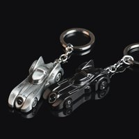 Bon Marché Décor de zinc-Marvel Super Heroes Batman Chariot en alliage de zinc Pendentif Porte-clés Key Holder Porte-clés de l'anneau de la chaîne pendentif Dangle Décor accesseur