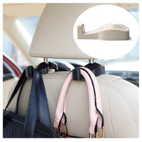 Wholesale 100pcs nd Generation sec To Install Convenient Vehicle Auto Car Accessories Bags Hook Hanger Holder Organizer ZA0315
