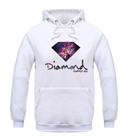 animal print warm - Diamond supply co men hoodie women street brand fleece warm sweatshirt winter autumn fashion hip hop primitive pullover