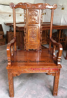 antique home office furniture - Office or boss chairs Classicial Living room chairs home coffee table armchair luxury wood furniture African Red sandalwood