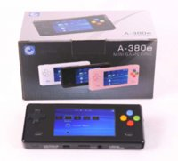 Wholesale New Black Dingoo A380E Handheld Emulator game console A320 Music Video Player Radio E book Browsing China Mainland video