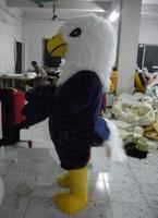 vente chaude de haute qualité d'Eagle Mascot Costume Halloween anniversaire fête de Noël Taille adulte expédition Apparel gratuit