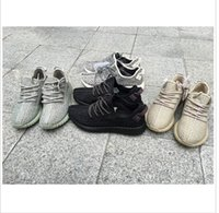 Wholesale Leather Oxfords For Women - milan west Y Boost 350 Oxford Tan Turtle dove breathable basketball moonrock Running Sneakers DHL Free Shipping For Wholesale women
