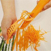 Wholesale 2016 New Vegetable Fruit Peeler Julienne Cutter Slicer Peel Kitchen Tools Gadget