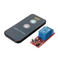audio relay switch - Channel Remote Controllor Self Lock Switch Relay Board Wireless IR Control V