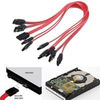 Wholesale 40cm ATA SATA to SATA Serial RAID Data HDD Hard Drive Disk Straight Signal Cables