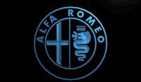 alfa romeo car parts - LS939 b Alfa Romeo Car Services Parts Neon Light Sign jpg