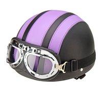 Wholesale Motorcycle summer helmets off road helmet knight safety helmet tank racing helmet half open face