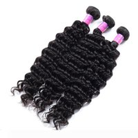 Wholesale 7A Peruvian Deep Wave Cheap Peruvian Virgin Hair Deep Wave Natural Color Unprocessed Deep Curly Wet and Wavy Human Hair Weave