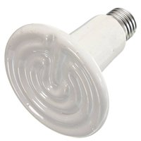 Wholesale 90mm W W W W W W W Reptile Pet Brooder Infrared Ceramic Emitter Heat Light Lamp Bulb V V