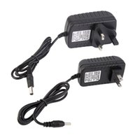 Wholesale New Universal AC V US EU UK Plug For DC V A W Power Supply Adapter Charger For LED CCTV Security Camera