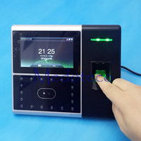 Wholesale Zkteco Iface302 Face Time Attendance Simply Access Control function Multi Face and Fingerprint Time Attendance Tcp ip Face