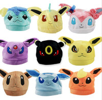 baby doll cosplay - Poke Go Pikachu Plush Doll for Children Colors Poke Warm Hat Plush Toys Cute Baby Hat Animals Birthdays Party Christmas Gifts cosplay