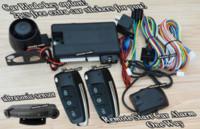 Wholesale emote start car alarm system with remote key window rolling up central lock automatication ultrasonic sensor alarm shock sensor alarm sys