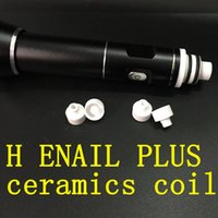 Wholesale H ENAIL Plus coil Gr2 dab rig electric nail update kit rechargeable glass h D nail for dabs VS Greenlight electric nail