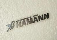 Wholesale HAMANN style uttathin metal car sticker exterior sticker fit for BMW series