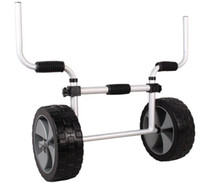 Wholesale Adjustable Sit On Top Kayak Canoe Aluminum Scupper Dolly Cart Carrier Trolley