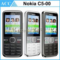accessories cell mobile phones - Refurbished Original Nokia C5 Unlocked Mobile Phone MP Camera G Bluetooth FM GPS Bar Cell Phone Free Post