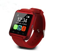 Wholesale Bluetooth Smartwatch U8 U Watch Smart Watch Wrist Watches for iPhone4S S Samsung S4 S5 Note Note HTC Android Phone