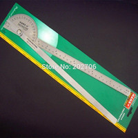 bevel gauge - Hans W brand mm Protractor bevel square angle ruler gauge stainless steel goniometer