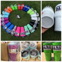 Wholesale 12oz oz oz YETI Rambler Cup colored coolers Travel Mug Powder Coated Vacuum Cup OOA526