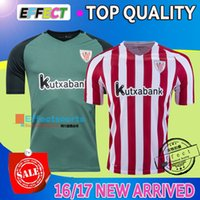 athletic feet - Top Quality La liga Athletic Bilbao Home Away Soccer jerseys SUSAETA GURPEGUI MUNIAIN Maillot de foot New Football shirts