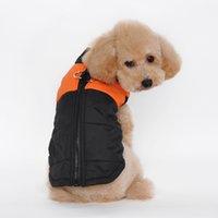 pet and dog diapers - pet vest Autumn and winter pet clothes Ski outfit cotton vest dog clothes S M L XL XXL