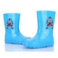 Wholesale Children Boots Built For Speed Boy Rain Boots New Arrival High Quality Hot Sale PVC Promotion Unisex Summer Winter Fashion Warm