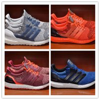 Wholesale 2016 New arrival Authentic originals Ultra Boost Primeknit M men s Sports sneakers casual Shoes drop shipping