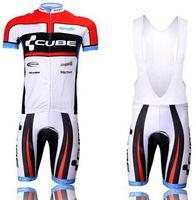 action shorts - Summer Cube Men Cycling Jersey Sets Action Term Bicycle Jerseys Tracksuits Bike Clothing Race Sportswear Bib Shorts Suit XXS XL