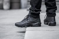 al por mayor ankle man boots-Mejor calidad de alta Top 95 Maxes botines botas del ejército Hombre Otoño Invierno aires tamaño de las botas para hombre de encaje zapatos de invierno 40-46