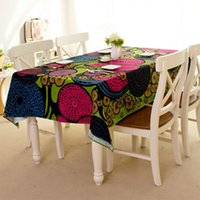 Wholesale Southeast Asia house tablecloths canvas tablecloths hotel tablecloth for dining