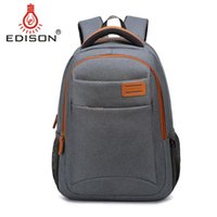 Wholesale Edison Casual Business Travel Fashion Oxford Fabric Notebook Backpack Male and Female14 inch Laptop Bag