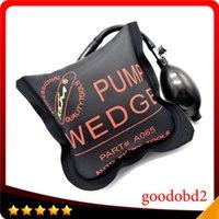 Wholesale Professional KLOM Pump Wedge Locksmith Tools Auto Air Wedge Lock Pick Set Opener Car Door Lock Medium Size Black Auto Enter Tool
