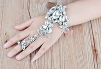 ally bracelet - ally big rhinestone bracelet bride temperament hand chain factory outlet