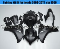 Wholesale Matte Black Fairing for Injection ABS Fairing Kit Fit for Honda CBR1000RR Plastic fairing Body Frames Motorbike Fairings