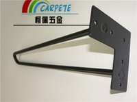 Wholesale low price black matt hairpin legs inch rods factory directly sell table legs