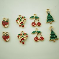Wholesale Gold Plated Christmas Style Metal Accessories Embellishmen DIY Supplies