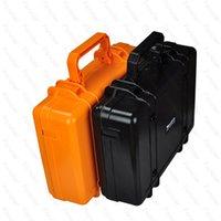 aluminium laptop cases - 2016 Wonderful Pelican Case Waterproof Safe Equipment Instrument Box Moistureproof Locking For Multi Tools Camera Laptop VS Ammo Aluminium