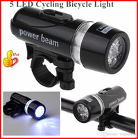 bicycle powered lights - Flashlight Waterproof Ultra Bright LED Cycling Bicycle Light Set Bike Front Head Light Lamp Power beam Rear Safety OUT002