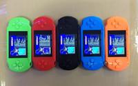 Acheter Nouvelle vidéo pas cher-Outlet NOUVEAU PXP3 10 ~ 100 PCS, 3.0 joueurs de jeu portables de PSP PXP3 console portable de joueur de jeu vidéo de 16 bits 5 couleurs meilleur