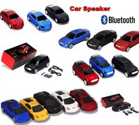 Wholesale New Super Cool Bluetooth speaker Top Quality Car Shape Wireless bluetooth Speaker Portable Loudspeakers Sound Box for iPhone IPAD Computer