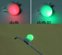 Wholesale LED Night Sea Fishing Rod Tip Clip on Fish Strike Bite Alert Mini Portable Alarm Light