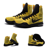 air tours - With shoes Box New Bryant Kobe X KB Elite High CODA Opening Night Tour LA Lakers Men Boots Shoes