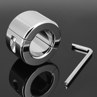 Wholesale A033 g weight SM scrotum bondage stainless steel ball pendant mm inner diameter gay sm toys