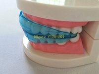 Wholesale 100pcs New Dental Tooth Orthodontic Appliance Trainer Doctor Alignment Braces Mouthpieces For Teeth Straight