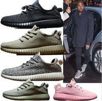 beige ankle boots - 2016 pinks boost Running shoes Classic Low Kanye West Athletic Boots Ankle Boots Low cut Shoes Sports running shoes size36