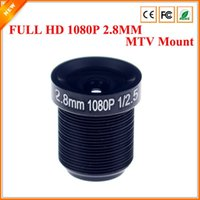 Wholesale CCTV Lens P degreee mm For HD Full HD CCTV Camera IP Camera M12 MTV Mount
