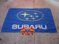 automobile banners - polyester cm subaru Automobile Exhibition flag car brand logo banner Digital Printing